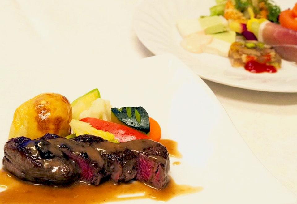 お祝いのお食事3